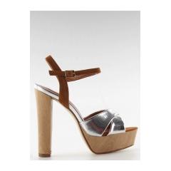 234114-krasne-strieborne-damske-sandale-m3006