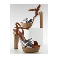234116-krasne-strieborne-damske-sandale-m3006