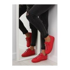 Dámske červené tenisky - 7209