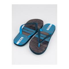 Pánske modré žabky  - A8902N