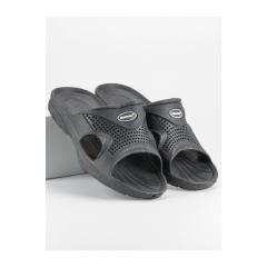 Pánske šedé gumové šľapky  - K909G