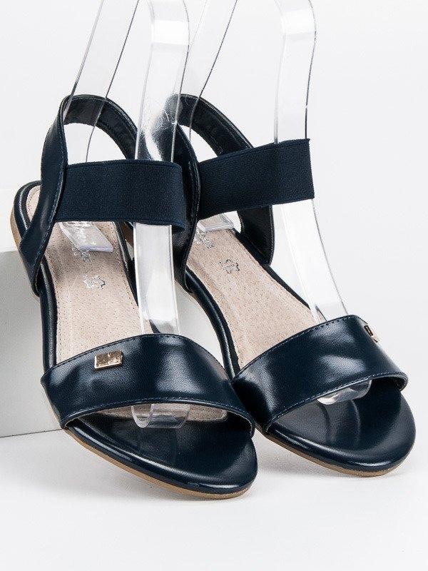 4d44edf19e53 Dámske tmavo modré sandále - LC12295418N