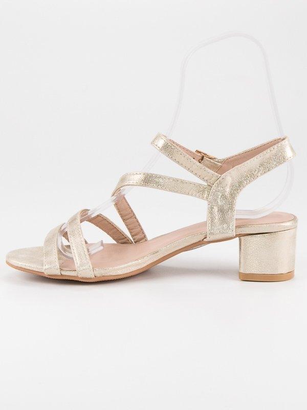 e17baf86be ... 239923-damske-zlate-sandale-na-nizkom-podpatku-sr-