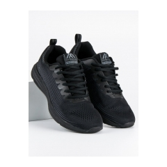 Pánske čierne tenisky  - A8252B