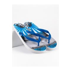 Pánske modré žabky - 17221BL