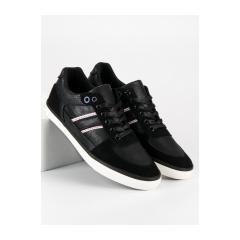 Pánske čierne tenisky  - B06B/