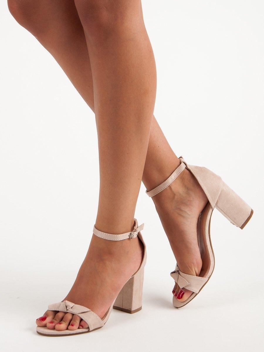 16ce740cd616 Dámske béžové sandále - 012-1BE