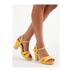 6febd2ded109 Dámske žlté sandále - 3K66Y
