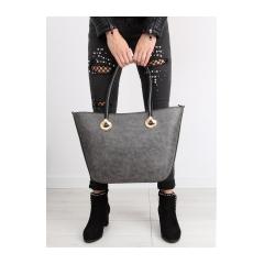 Elegantná dámska šedá kabelka