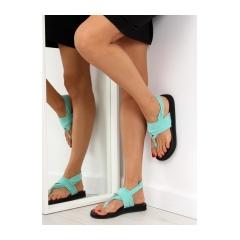 251033-damske-zelene-bavlnene-sandale-dd81p