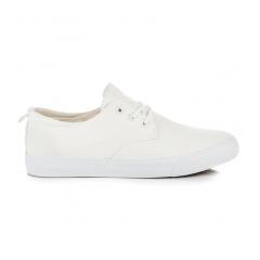 Módne biele pánske tenisky - A76W