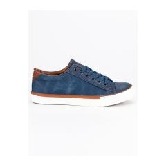 Pánske modré džínsové tenisky  - XJY-78DK.BL