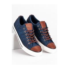 Pánske džínsové tenisky  - XJY-12DK.BL