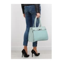 Klasická dámska zelená kabelka