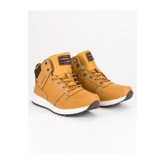 Pánske žlté členkové topánky - A8467-2Y