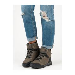 Dámske khaki trekingové topánky MCKEYLOR - FT19-8636KH