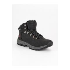 Pánske čierne členkové topánky MCKEYLOR - WAL19-12620B