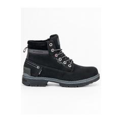 Pánske čierne workery  - 708121B