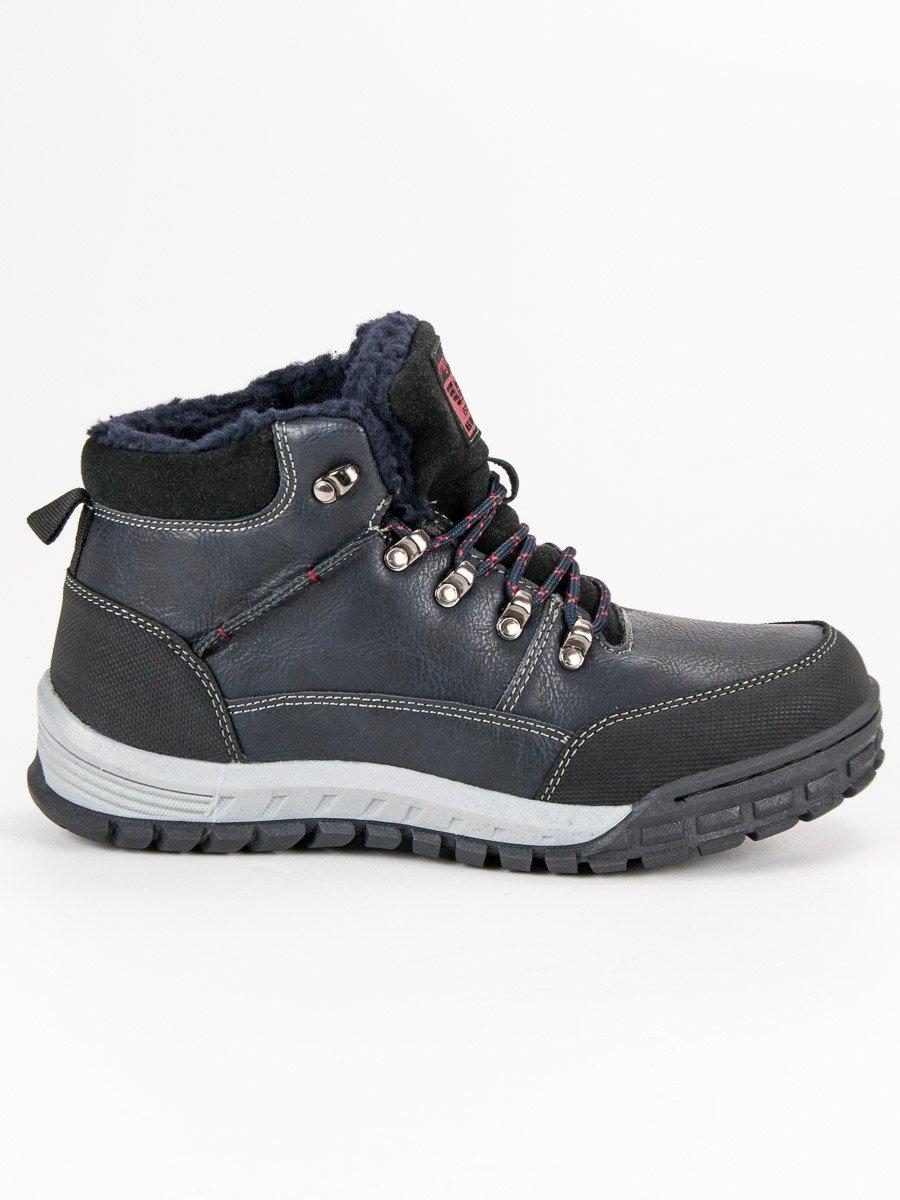 c9b178a9fb23 Pánske modré zateplené členkové topánky - AM8438N. Výrobca  ARRIGO BELLO ...