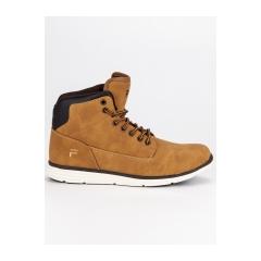 Pánske hnedé členkové topánky FILA LANCE MID  - 1010146CH