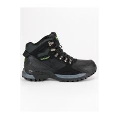Pánske čierne členkové topánky MCKEYLOR  - HIS19-14902B