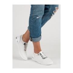 Dámske biele tenisky  - T511W
