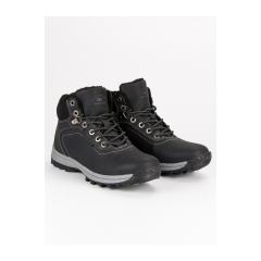 Pánske čierne členkové topánky - A87445-2B