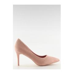 Dámske ružové lodičky - LE012P