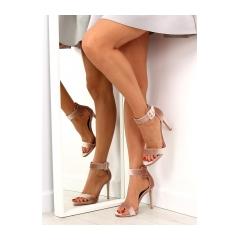 Dámske ružové sandále - M259