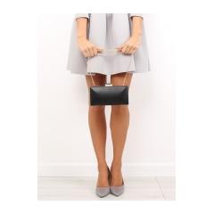 Elegantná dámska čierna kabelka