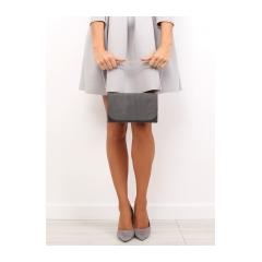 Dámska šedá listová kabelka