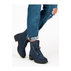 Dámske modré workery  - HX19-16018N