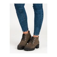 Dámske zelené topánky - 1275/5GR