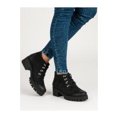 Dámske čierne topánky  - 1275/5B
