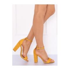 30abdd2c9 Dámske žlté sandále - Y2385-27