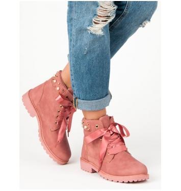 Dámske ružové workery  - DTR604/18P