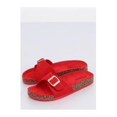 Dámske červené šľapky - CK61P
