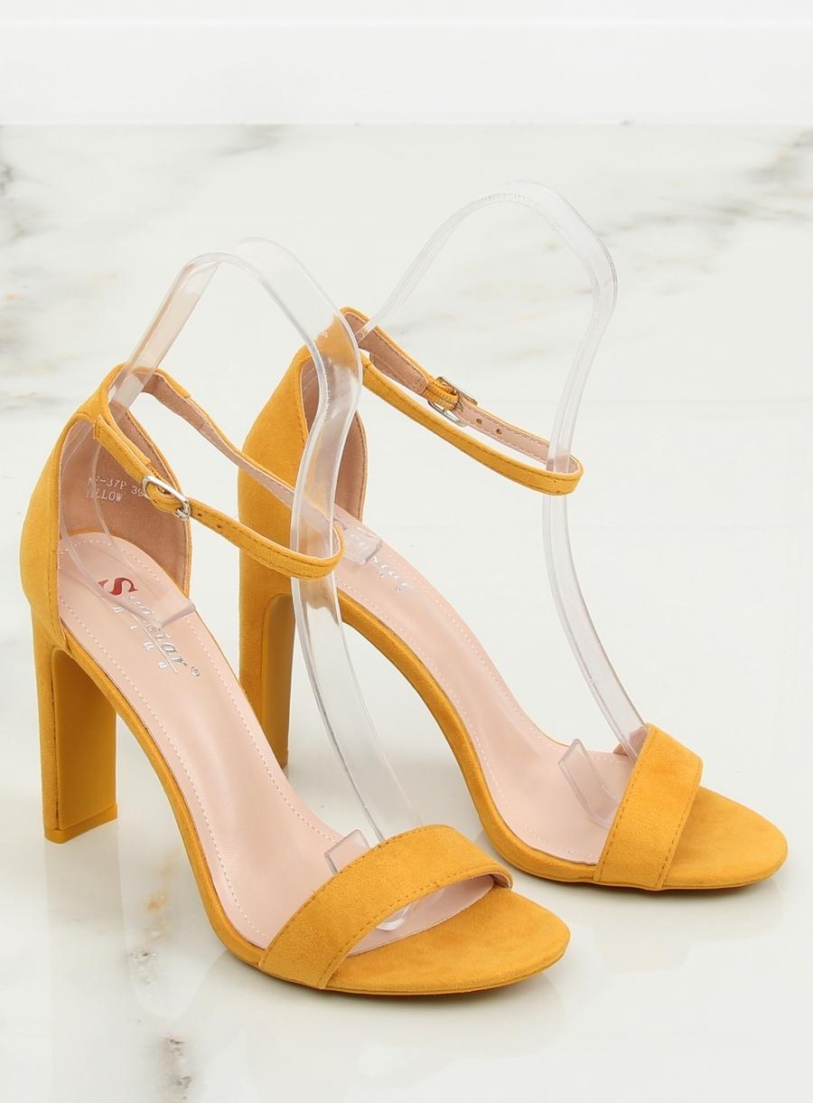 fa2a1d77c55b0 Dámske žlté sandále - NF-37P   dawien.sk