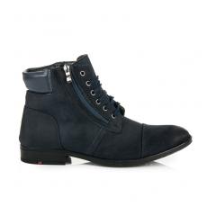 Pánske modré členkové topánky - NL74N