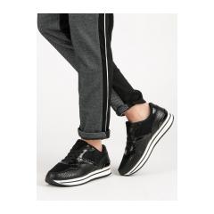 Dámske čierne tenisky  - 1301B-B