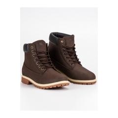 Pánske hnedé topánky FILA MAVERICK MID  - 1010145PA