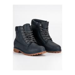 Pánske modré topánky FILA MAVERICK MID  - 1010145N