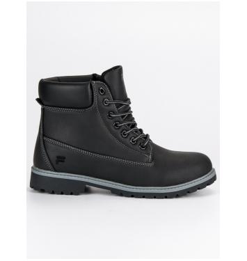 Pánske čierne topánky FILA MAVERICK MID - 1010145B/B