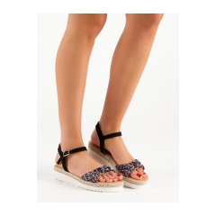 faa0f66cdbd1 Dámske modré sandále - S18-34B