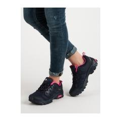 Dámske čierne trekingové topánky  - TOWN-N
