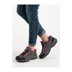 Dámske šedé trekingové topánky  - CLIFF-G