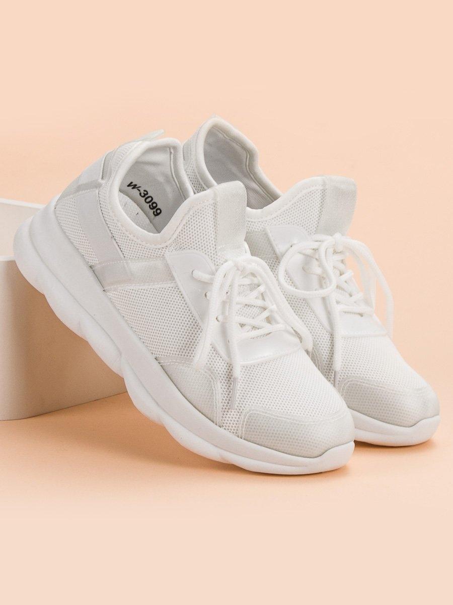 bf794f2091 Dámske biele tenisky - W-3099W