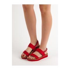 Dámske červené sandále  - GD-OD-12R