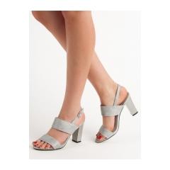 Dámske šedé sandále  - GD-FL142S