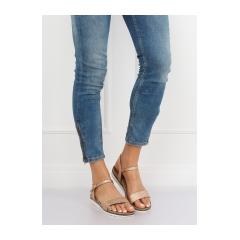 Dámske ružové sandále - S18-33